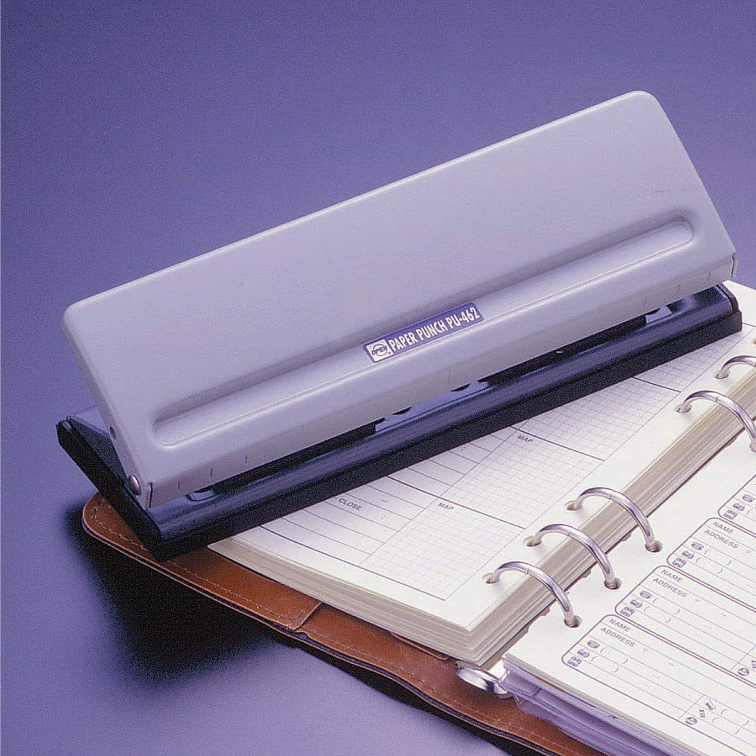 Open industrial 6 hole punch (Mobile)  (1, A)