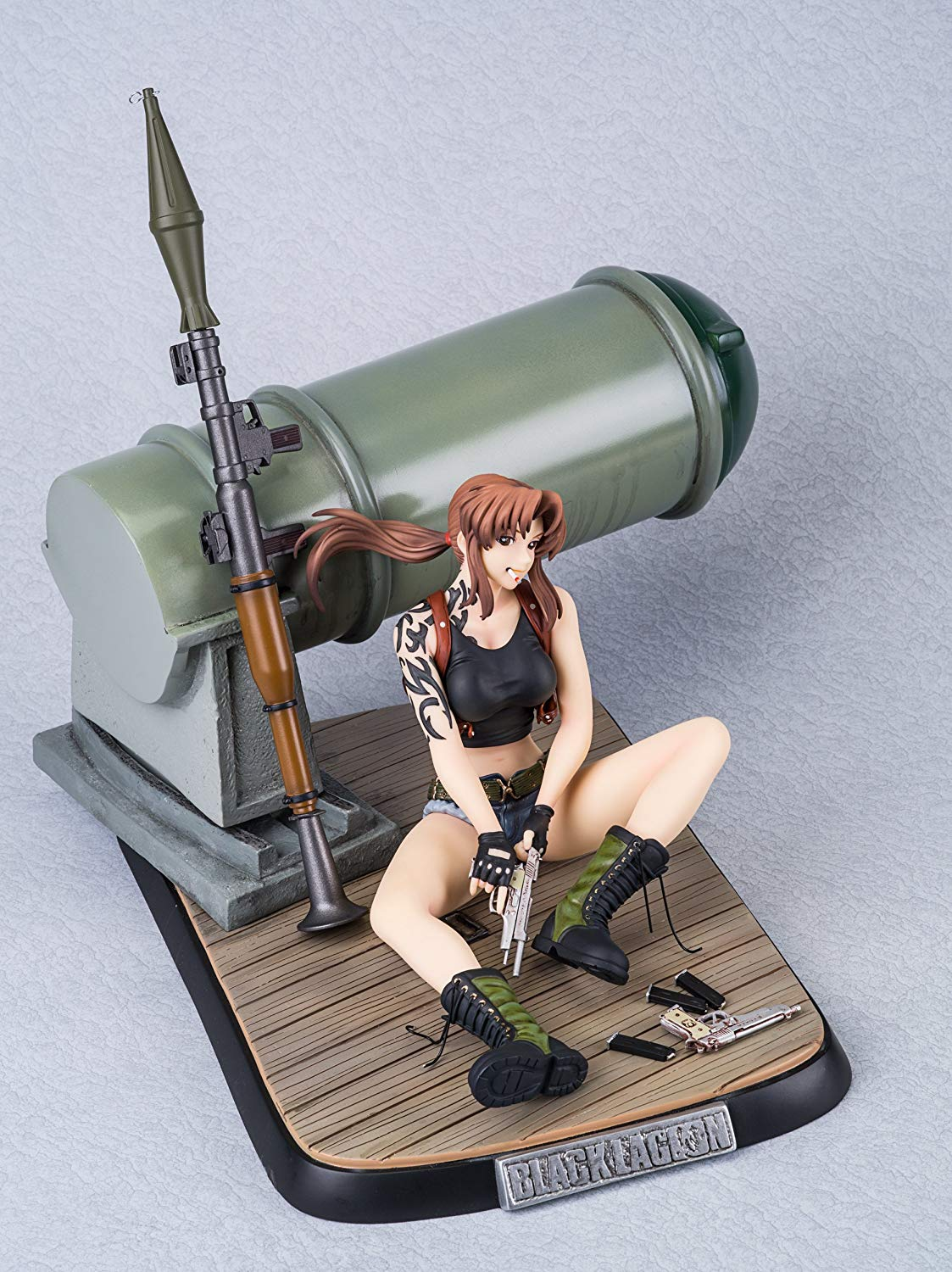 Black Lagoon revy DX ver. 1 / 6 scale PolyStone painted PVC figure
