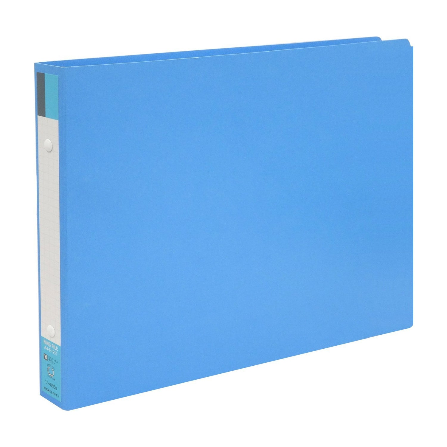 Kokuyo S & T board cover ring file A4 landscape blue 30mm