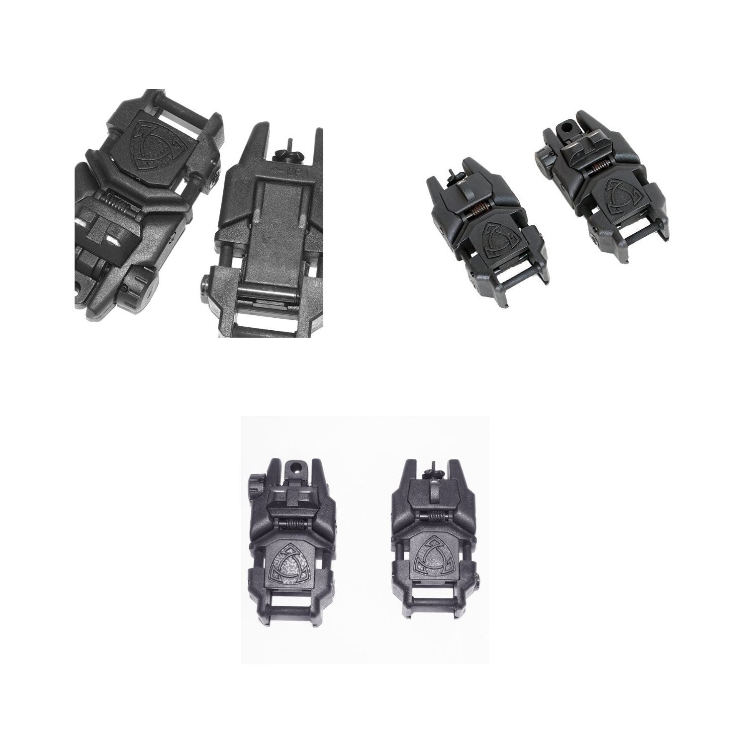Magupuru MAGPUL PTS MBUS type backup site before and after set BK high quality replica M4/M16 (japan import)