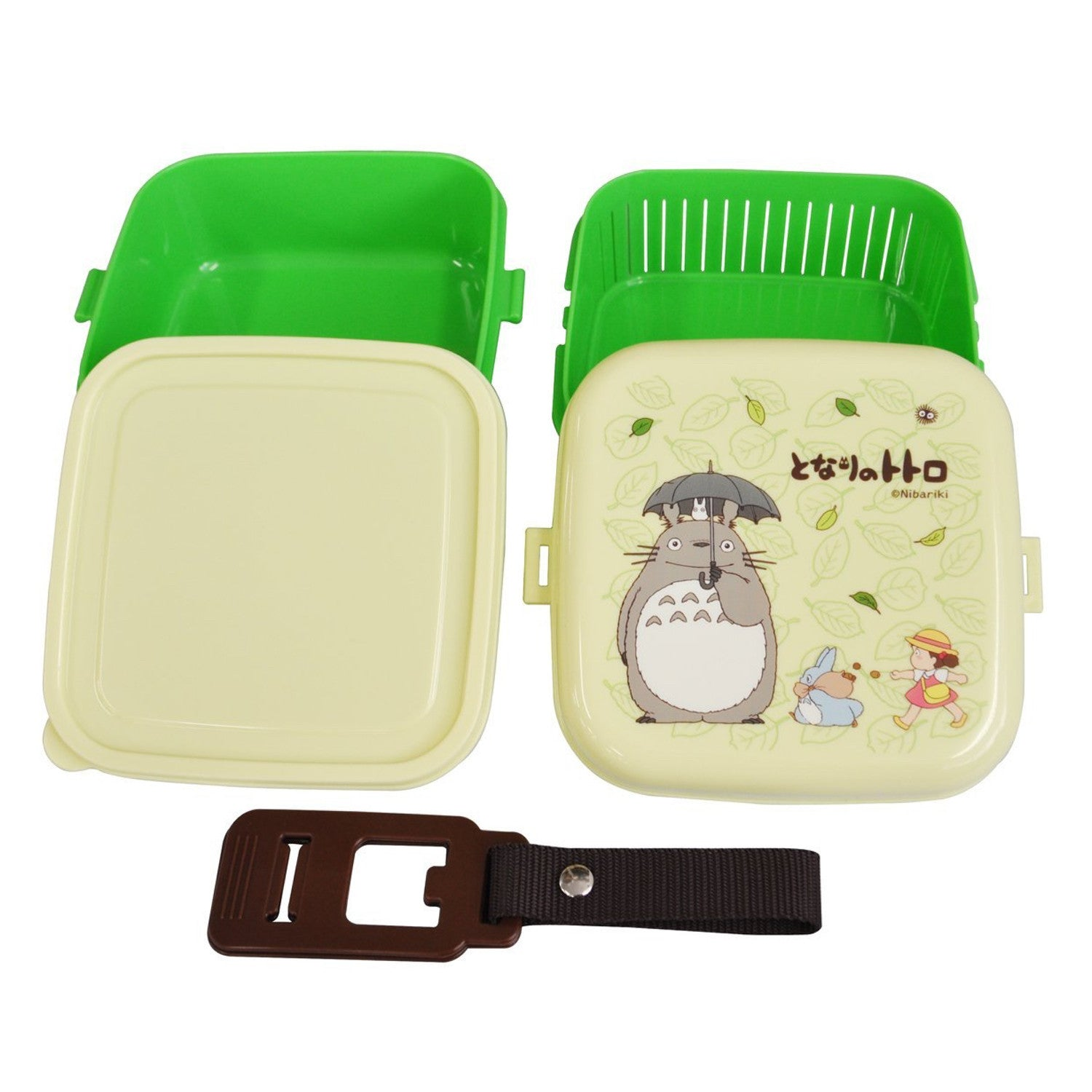 Bento: Studio Ghibli Totoro Design 2-tier Bento Lunch Box (Volume: 620ml + 630ml)