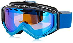 ALPINA Skibrille Turbo HM, Blue-Grey, One size, 7036882