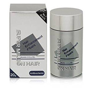 Super Million Hair Hair Enhancement Fibers Antibacterial 20g/0.7oz - 1 Black by Super Million Hair