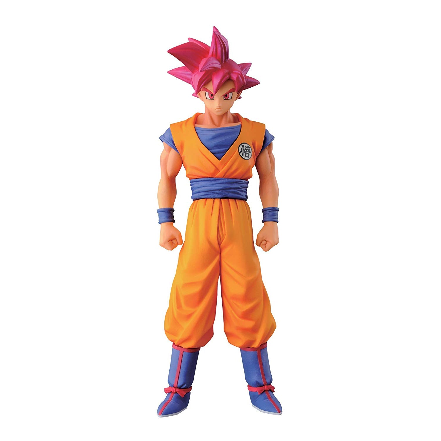 "Banpresto Dragon Ball Z 5.9"" Super Saiyan God Son Goku Figure, Chozousyu Series"