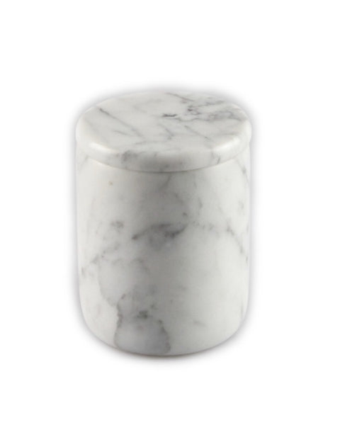 Carrara Marble Large Candle Marble lid