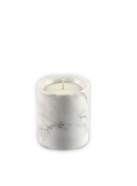 Refill pillar Candle - Carrara Marble piccolo
