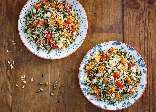 Cauliflower & Wild Rice Salad