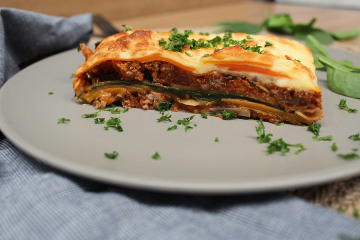 Low Carb Beef & Vegetable Lasagne