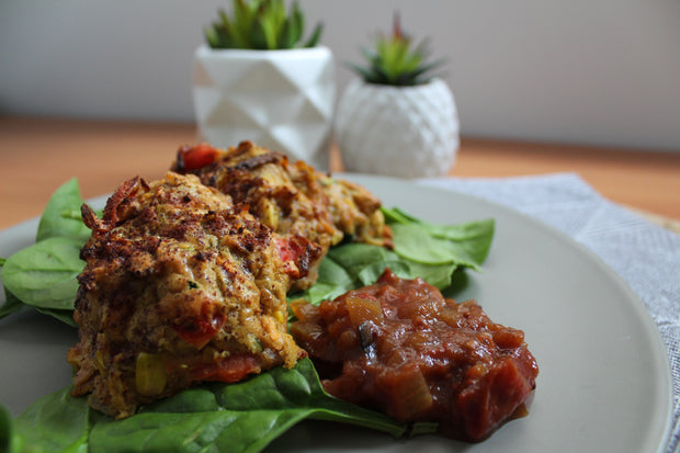 Superfoodie Vegetable Fritters