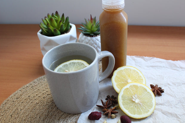 Flu Fighting Spiced Lemon & GingerDrink - 10 Serves