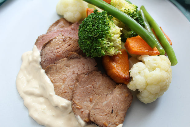 Classic Roast Beef with Dianne Sauce