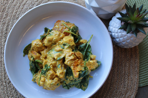 Balinese Pumpkin, Coconut & Tumeric Curry