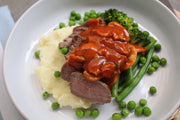 Steak Chasseur
