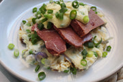 Corned Silverside with Dijon & Shallot Sauce