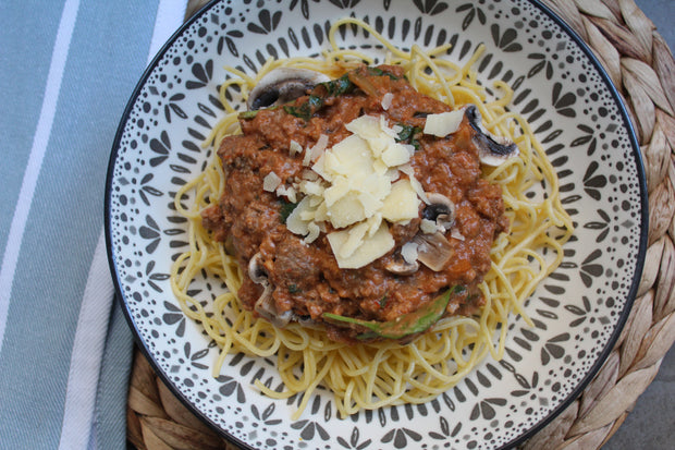 Creamy Beef Bolognese