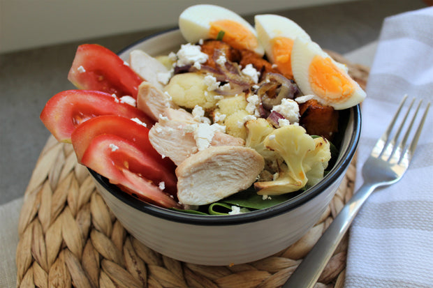 Chicken Buddha Bowl