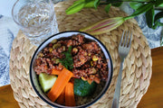 Mixed Bean & Quinoa Con Carne