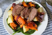 Roast Beef & Vegetable Salad