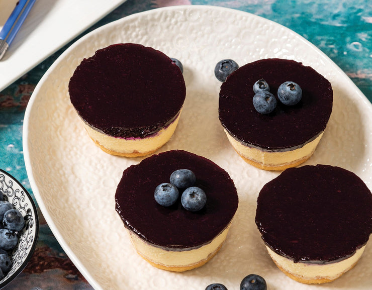 No Added Sugar GF Blueberry Cheese Cake