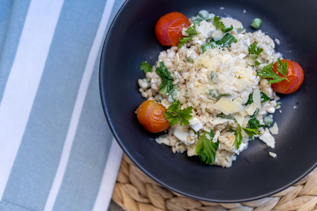 Three Cheese Risotto