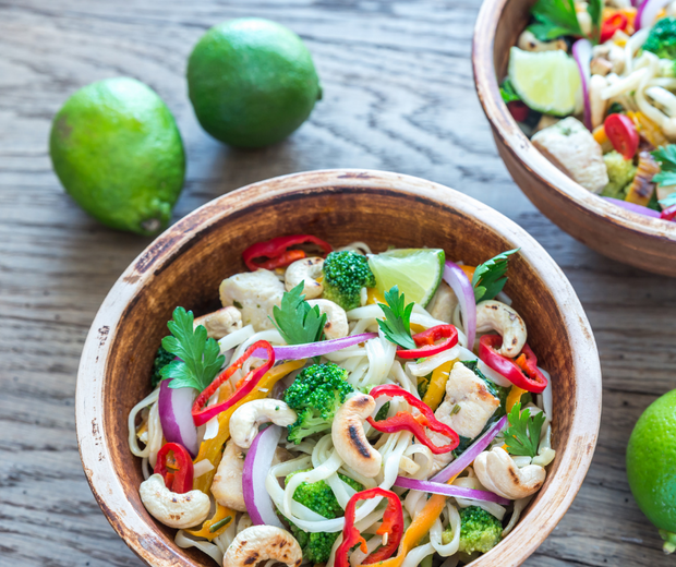 Chili Lime Chicken Stir Fry