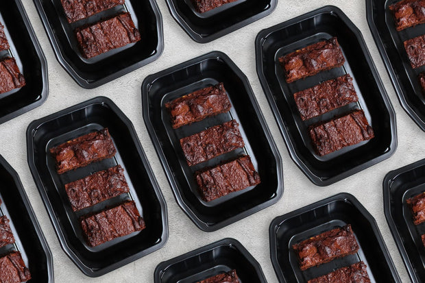Choc Nut Butter Fudge Brownies - 3 Pack