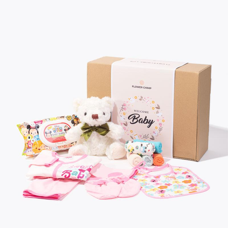 hamper_baby Baby's First Steps (Pink)