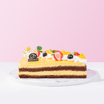 cake Chocolate Mango Mousse Cake