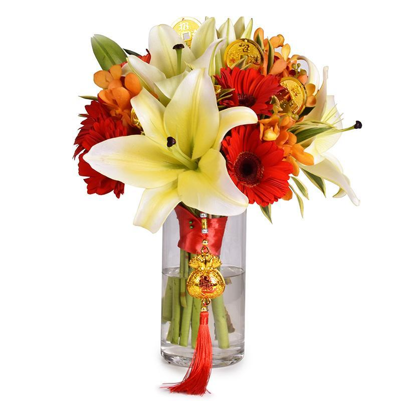 flowers_vase CNY-VASE01 (Great Longevity)