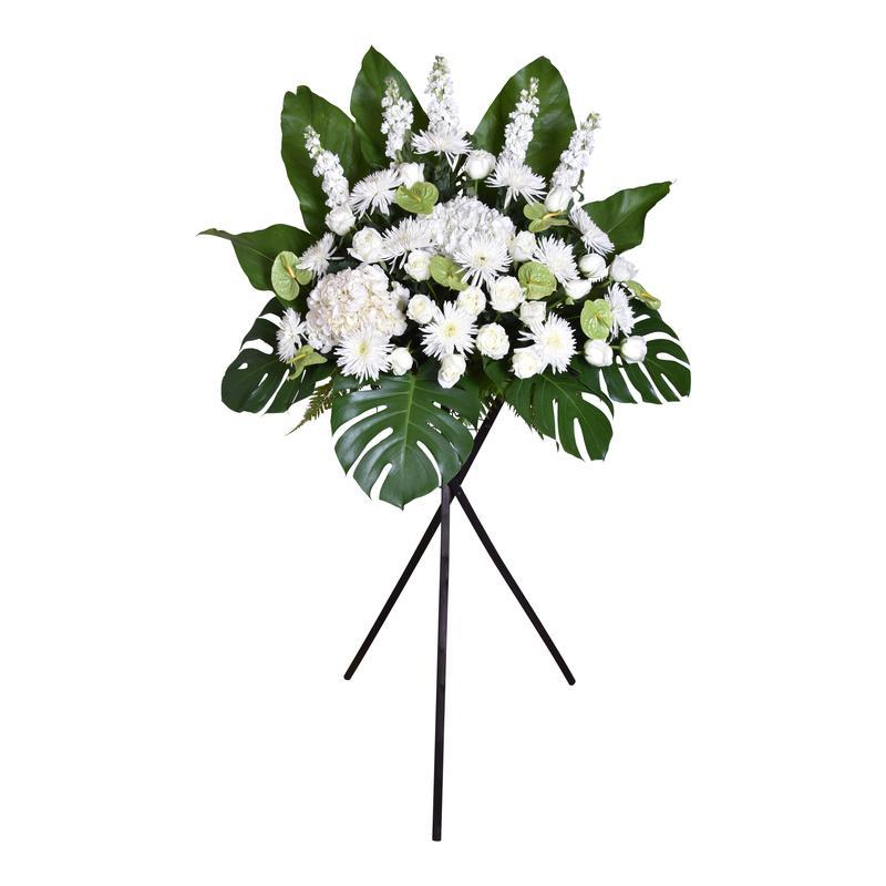 flower_stand_condolence Farewell Condolence / Funeral Flowers