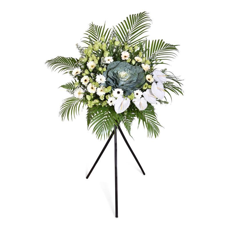 flower_stand_condolence Honour Condolence / Funeral Flowers