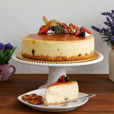 flowers_bouquet_bundle_cake Pink Delight + New York Cheesecake