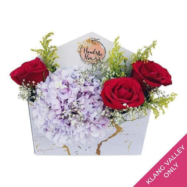 flowers_box Sweetheart Gold