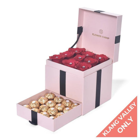 flowers_box Trinity Box - Love Struck