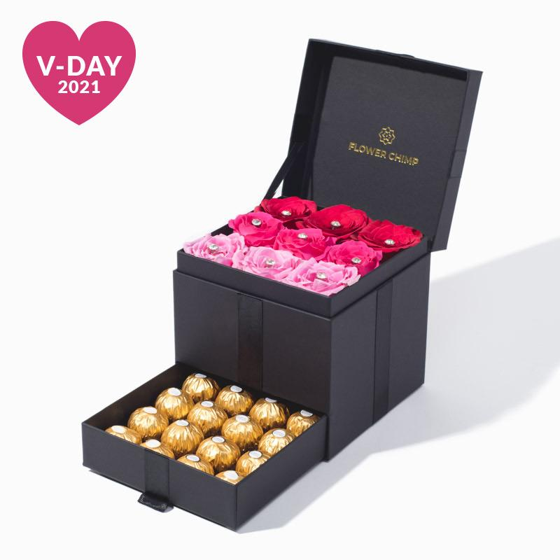 flowers_box_trinity_ferrero Trinity Box - Shades of Love
