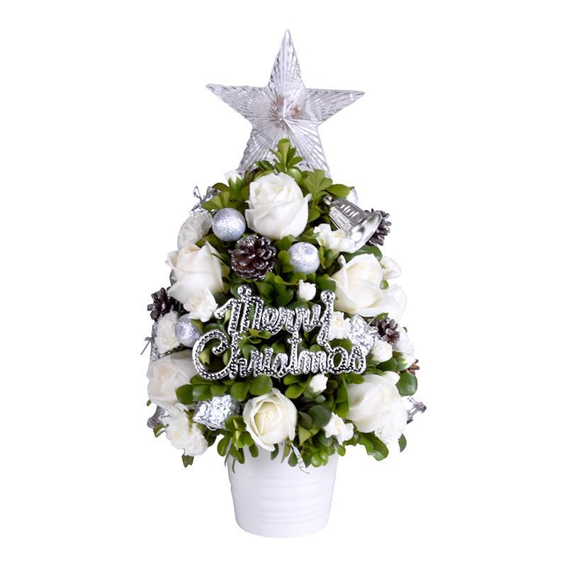 flowers_potted White Christmas
