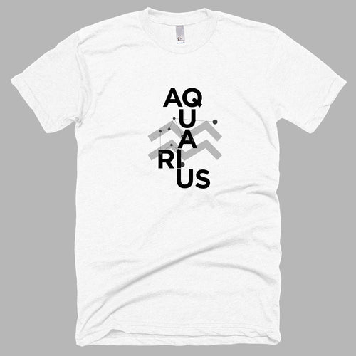 AQUARIUS Men T-shirt :: Collage