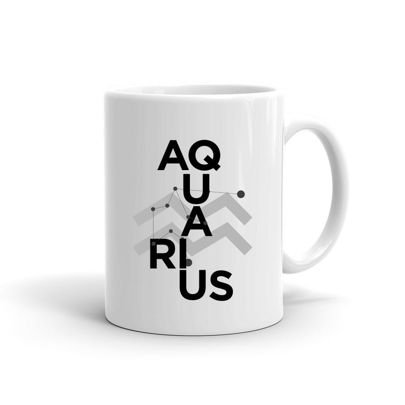 Zodiac Collage Mug | AQUARIUS
