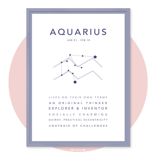 AQUARIUS (Jan 21 - Feb 18)