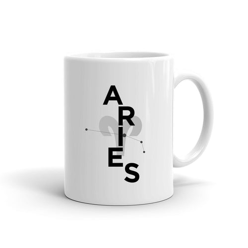 Zodiac Collage Mug | ARIES