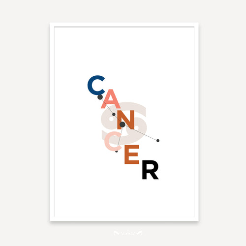 ZODIAC COLLAGES | CANCER