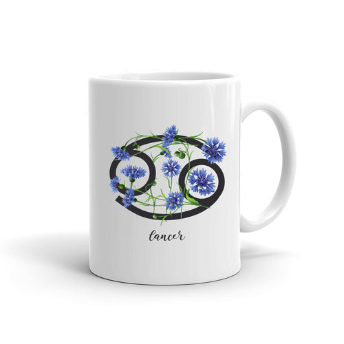 Zodiac Flowers Mug | CANCER