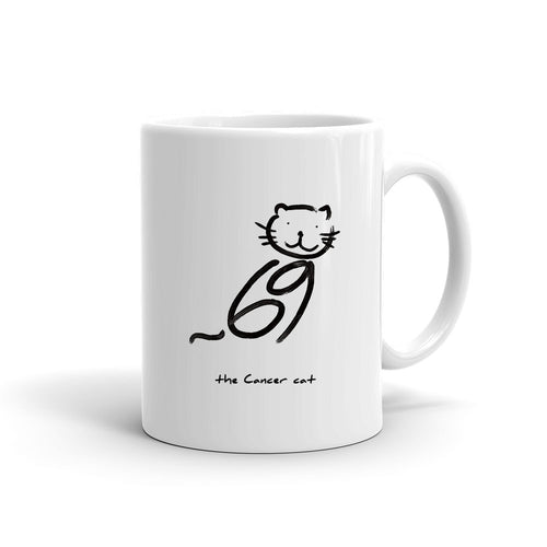 Zodiac Cat Mug | CANCER