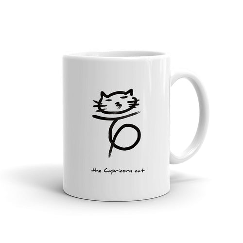 Zodiac Cat Mug | CAPRICORN