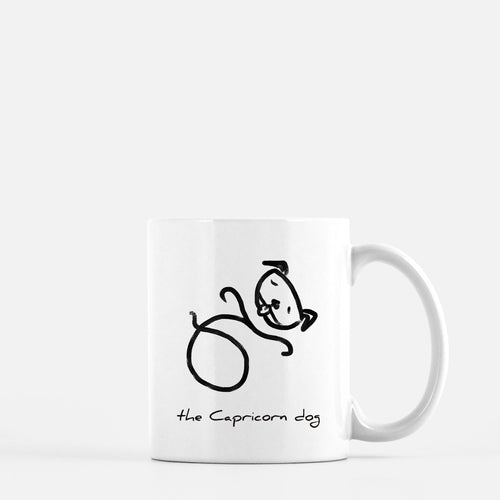 Zodiac Dog Mug | CAPRICORN