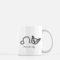 leo constellation zodiac sign horoscope astrology dog puppy mug