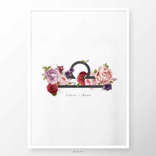 Zodiac Flowers | LIBRA :: Rose