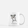 pisces constellation zodiac sign horoscope astrology dog puppy mug