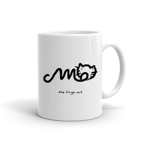 Zodiac Cat Mug | VIRGO