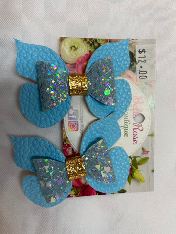 Bella Rose Bows - Double Bows